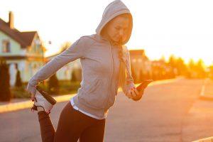 sport tôt le matin